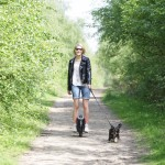 Airwheel X3 Dog Walking
